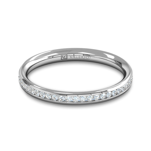 Diamond Fairtrade half Fairtrade Gold Eternity Ring