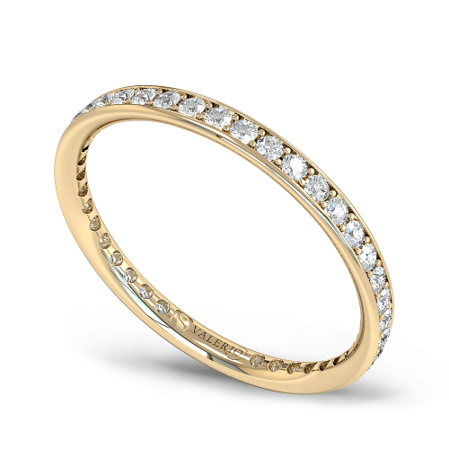 Diamond and Fairtrade Gold Eternity Ring