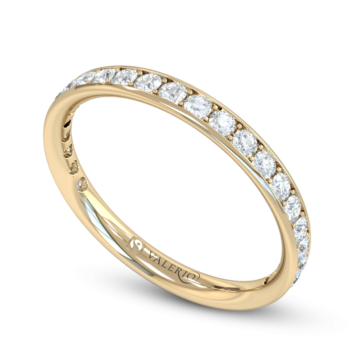Grain Set Diamond Eternity Ring