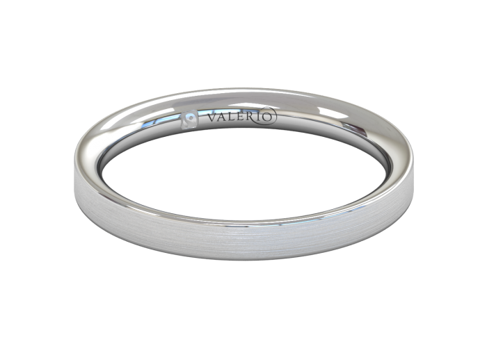 Flat Court FairTrade Gold Wedding Ring